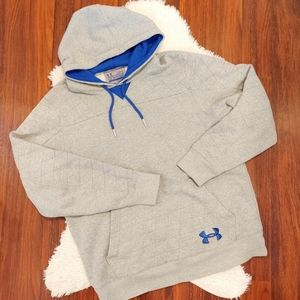 Men's Under Armour Storm Loose Fit Hoodie Gray
